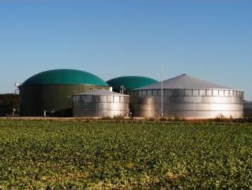 Biogas plant project, financed by the Romanian Commercial Bank