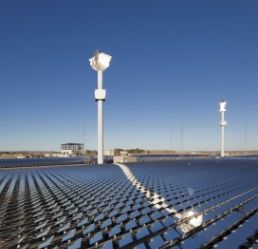 World's biggest solar-thermal plant was commissioned recently