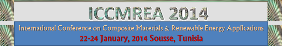 International Conference on Composite Materials and Renewable Energy in Tunisia