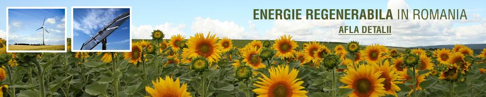 Energie regenerabila in Romania